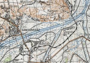 Mapy Generalnej Guberni w Archiwum WIG