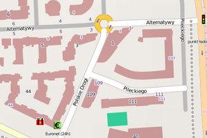 Wszystkie ulice w bazie UMP