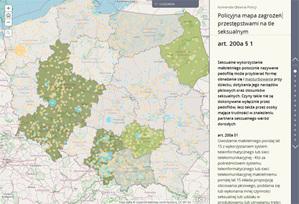 Ruszyła policyjna mapa zagrożeń przestępstwami seksualnymi