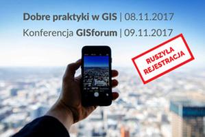 Uwaga, ruszyła rejestracja na GISforum