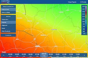 Portal pogodowy MeteoPG już działa