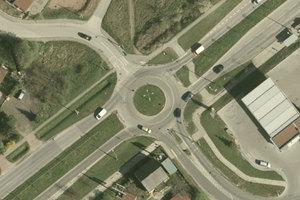 Geodeci patronem ronda w Kielcach - jest projekt uchwały <br /> Fot. Geoportal Kielce