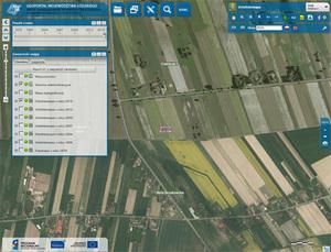 Nowe zbiory ortofotomap w geoportalu województwa łódzkiego