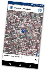 Aktualizacja mobilnego Geoportalu