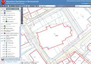 Internetowa obsługa geodetów również w powiecie bartoszyckim