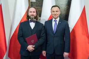 Janusz Bogusz odebrał nominację profesorską <br /> fot. Krzysztof Sitkowski/KPRP