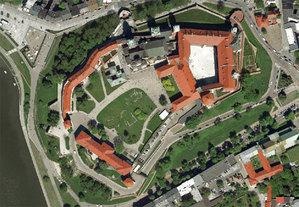 Kraków z pikselem 5 cm