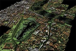 Cała Wielka Brytania w chmurze punktów do końca dekady <br /> Dane LiDAR dla centrum Londynu (fot. EA)