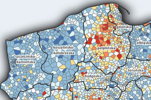 Religijność Polaków na mapach