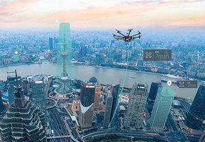HERE i Unifly stworzą mapy na żywo dla dronów