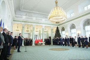 Kto odpowiedzialny za geodezję i IIP w nowym rządzie? [aktualizacja] <br /> Uroczystość powołania nowych członków Rady Ministrów (fot. Krzysztof Sitkowski/KPRP)