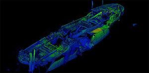 Titanic zostanie zeskanowany <br /> Jeden z wraków zeskanowanych przez OceanGate