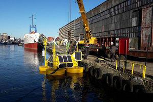 LiDAR mierzy wiatr na Bałtyku