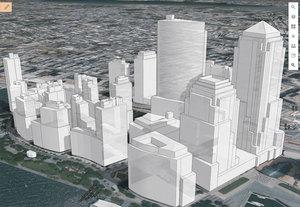 ArcGIS Online wyświetli mapę 3D w komórce