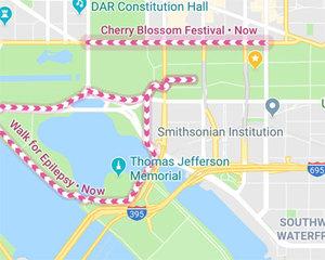 Mapy Google ostrzegają przed publicznymi zgromadzeniami