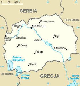 Na mapie Europy pojawi się nowa nazwa państwa <br /> fot. Wikipedia