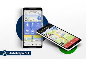 Jest już AutoMapa 5.1 dla Androida