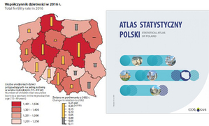Atlas statystyczny Polski na 100-lecie GUS-u