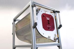 Instrument teledetekcyjny z polskimi podsystemami już na stacji kosmicznej <br /> Instrument DESIS gotowy do wysłania na orbitę (fot. DLR)