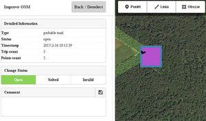 ImproveOSM: łatwiejsze poprawianie błędów na otwartej mapie