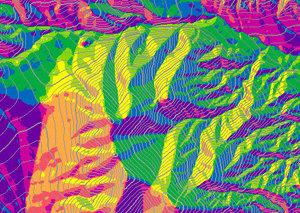 USGS udostępnia dynamiczne mapy rzeźby