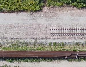 Kolejowe inwestycje pod okiem dronów <br /> fot. Fotoraporty