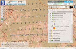 Model różnic wysokości w Geoportalu