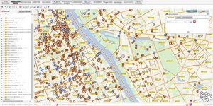Warszawa chce unowocześnić swój geoportal <br /> Obecny wygląd serwisu