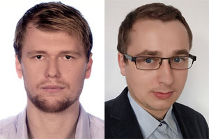 Kolejni doktoranci z grantem EGU <br /> Artur Leńczuk i Mateusz Drożdżewski