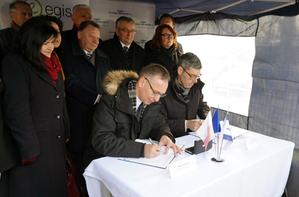 Ruszają prace przygotowawcze dla inwestycji kolejowej zwanej &quot;Podłęże - Piekiełko&quot; <br /> fot. MGGP