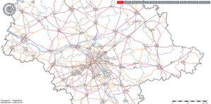 Mazowiecki projekt geodezyjny walczy w międzynarodowym konkursie <br /> fot. MSIP