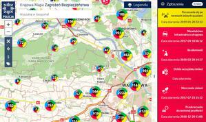Milion zgłoszeń na Krajowej Mapie Zagrożeń Bezpieczeństwa