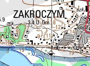 Jakie mapy są dostępne w mazowieckim WODGiK-u? <br /> Przykład VMap Level 2 w skali 1:50 000