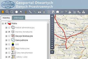 Rekordowe zainteresowanie Geoportalem Otwartych Danych Przestrzennych