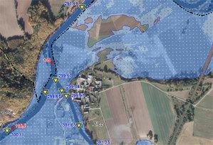 Stypendium A. Pasek za modelowanie hydrologiczne <br /> Zdjęcie ilustracyjne (mapy.isok.gov.pl)