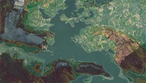 Analizy teledetekcyjne pomogą zbadać Wigierski Park Narodowy <br /> fot. Geoportal.gov.pl