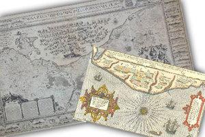 O dawnej kartografii w Międzyzdrojach