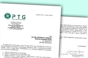 PTG uzupełnia wniosek ws. kontroli kilku WINGiK-ów