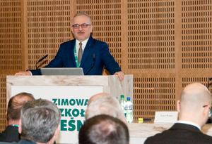 Zastosowanie geoinformatyki w leśnictwie <br /> Uczestników Zimowej Szkoły Leśnej przywitał prof. Jacek Hilszczański, dyrektor IBL