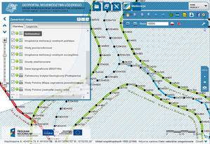 Nowe dane dotyczące wód w serwisie mapowym województwa łódzkiego