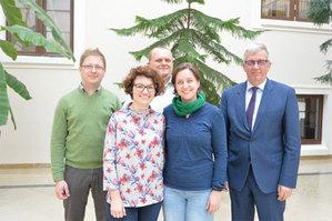 Geodeci z UPWr będą współpracować z najlepszymi <br /> Zespół UPWr, który zdobył grant wart 800 tysięcy euro (fot. Tomasz Lewandowski)