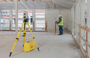 Leica prezentuje nowość do łatwego tyczenia na budowie