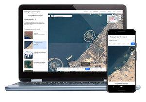 Google prezentuje nowe animacje zdjęć satelitarnych