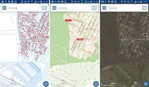 Odświeżony mobilny Geoportal