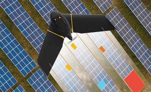Dron usprawni inspekcję paneli słonecznych