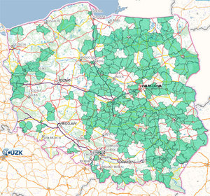 Ponad 150 powiatów korzysta z komunikacji EGiB-EKW