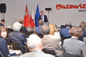 O innowacjach w informacji przestrzennej na mazowieckim seminarium