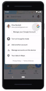 Więcej prywatności na Mapach Google