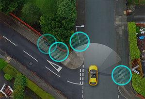 Samochodowe kamery skartują brytyjskie drogi
