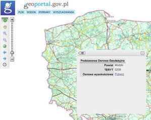 Powiaty pobiorą podstawową osnowę wysokościową z Geoportalu